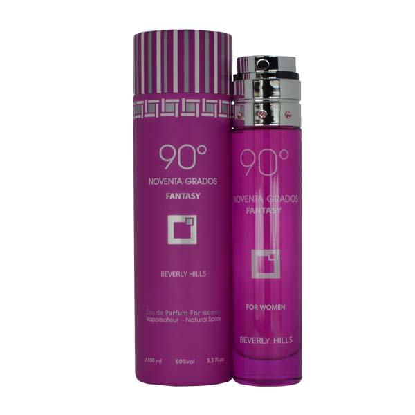 Perfume 90 Grados Fantasy De Beverly Hills Para Mujer 100 ml