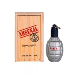 Perfume Arsenal Red De Gilles Cantuel Para Hombre 100 ml