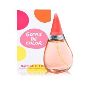 Perfume Gotas De Color De Agatha Ruiz De La Prada Para Mujer 100 ml