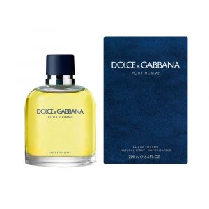Perfume Pour Homme De Dolce & Gabbana Para Hombre 200 ml