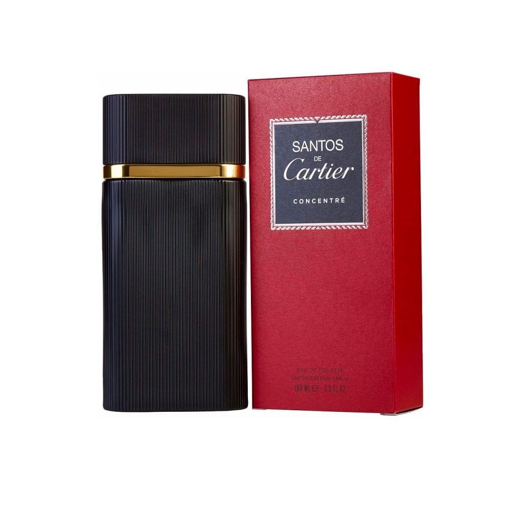 Perfume Santos Concentree De Cartier Para Hombre 100 ml