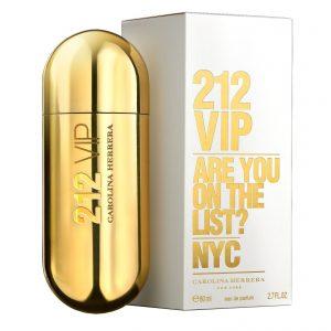 Perfume 212 Vip De Carolina Herrera Para Mujer 80 ml