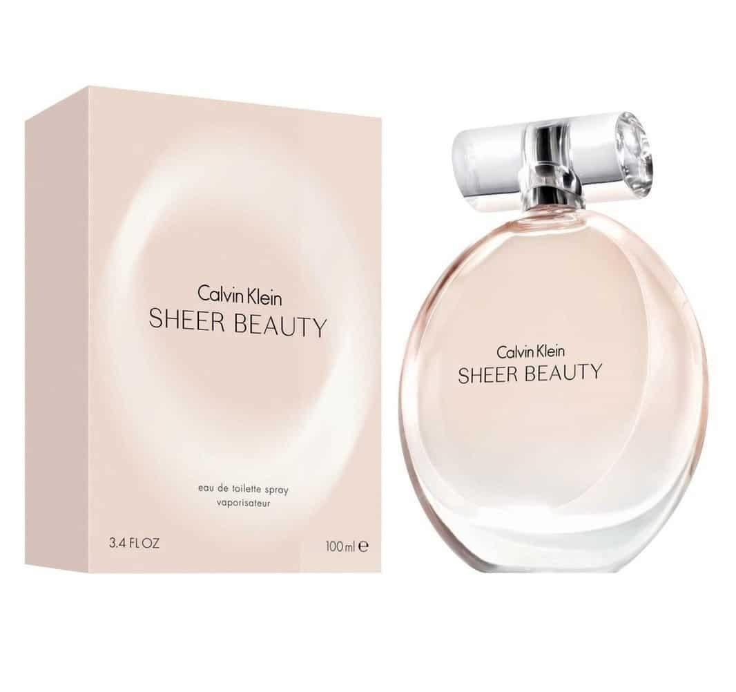 Perfume Beauty Sheer De Calvin Klein Para Mujer 100 ml