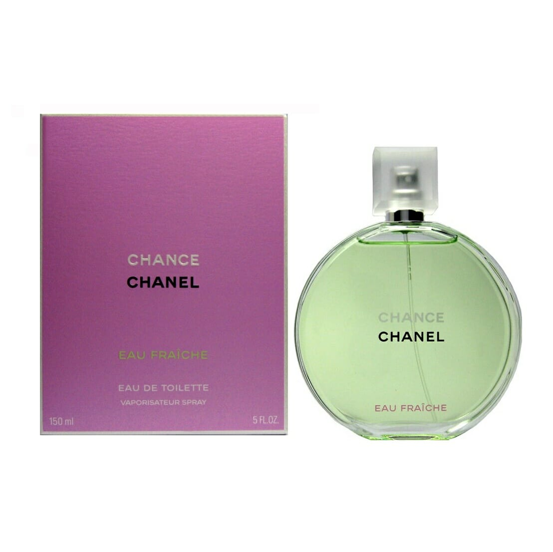 Perfume Chance Eau Fraiche De Chanel Para Mujer 150 ml