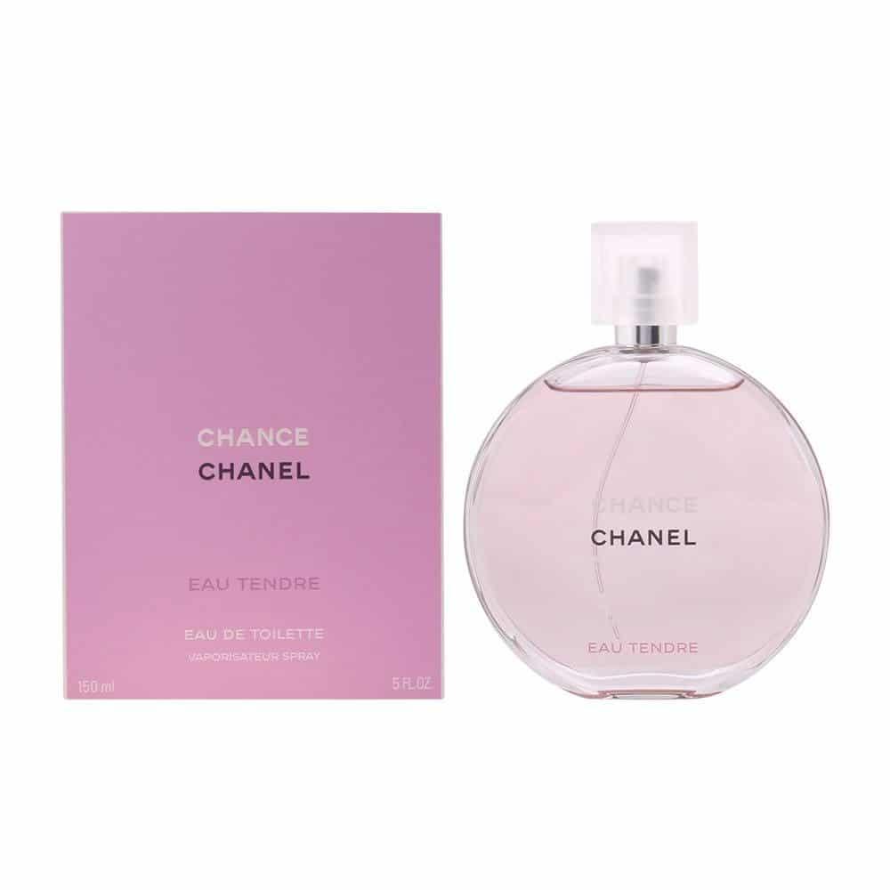 Perfume Chance Eau Tendre De Chanel Para Mujer 150 ml
