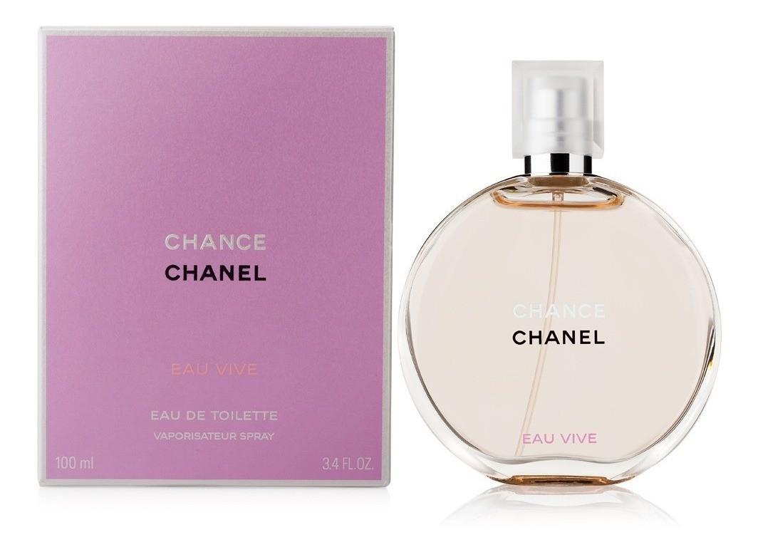 Perfume Chance Eau Vive De Chanel Para Mujer 100 ml