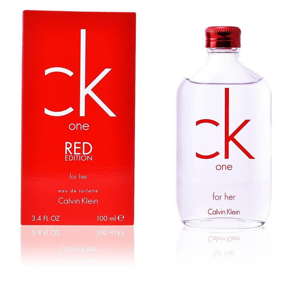 Perfume Ck One Red De Calvin Klein Para Mujer 100 ml