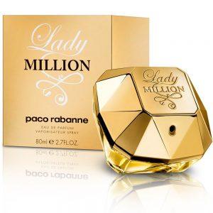 Perfume Lady Million De Paco Rabanne Para Mujer 80 ml