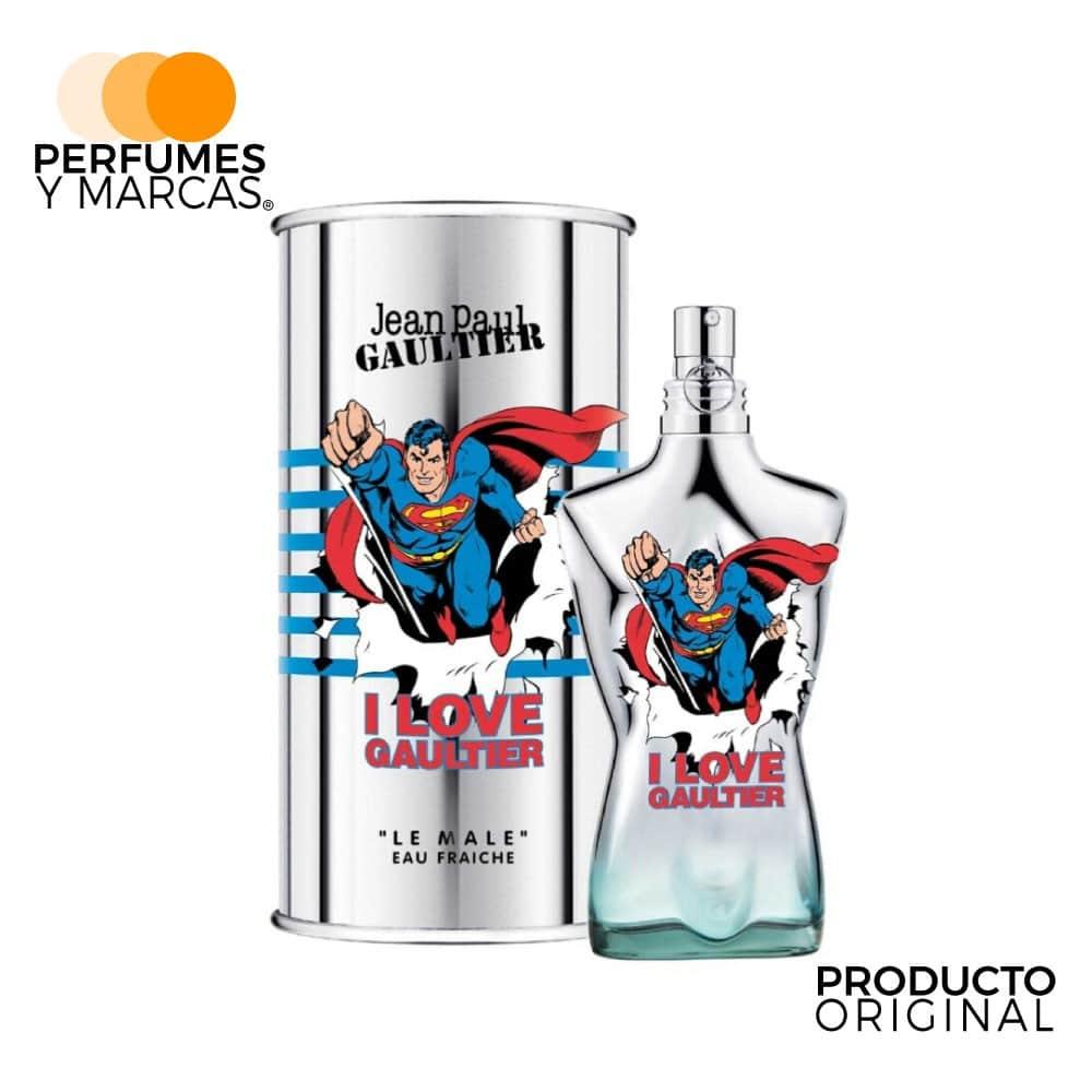 Perfume Le Male Superman Eau Fraiche Jean Paul Gaultier 125 ml