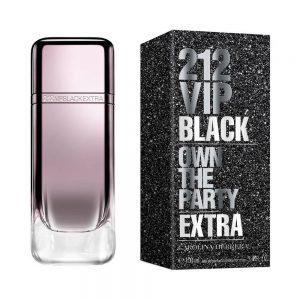 Perfume 212 Vip Black Extra EDP De Carolina Herrera 100 ml