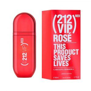 Perfume 212 Vip Rose Red De Carolina Herrera Para Mujer 80 ml
