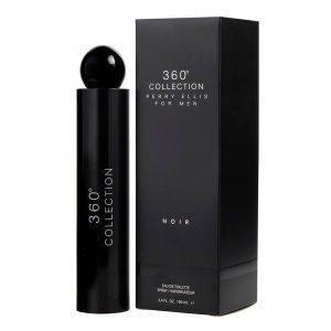 Perfume 360 Collection Noir For Men De Perry Ellis Para Hombre 100 ml