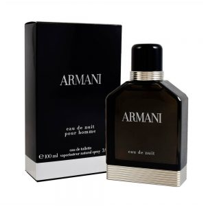 Perfume Armani Eau de Nuit De Giorgio Armani Para Hombre 100 ml