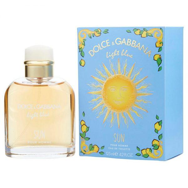 Perfume Light Blue Sun De Dolce & Gabbana Para Hombre 125 ml