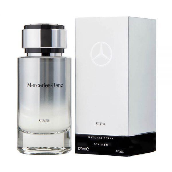 Perfume Mercedes Benz Silver De Mercedes Benz Para Hombre 120 ml