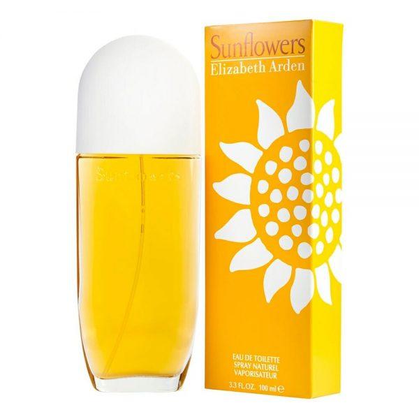 Perfume Sunflowers De Elizabeth Arden Para Mujer 100 ml