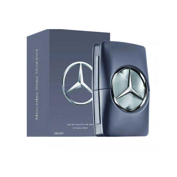 Perfume Man Grey De Mercedes Benz Para Hombre 100ml