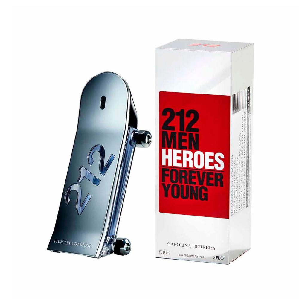 Perfume 212 Men Heroes De Carolina Herrera Para Hombre 90 ml