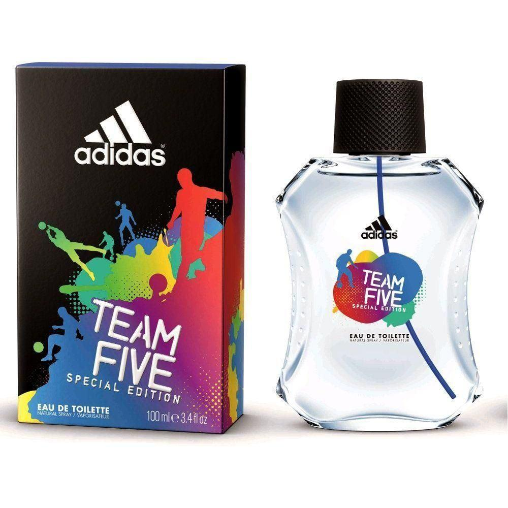 Perfume Team Five De Adidas Para Hombre 100ml